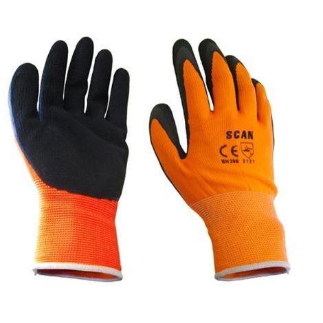 Black Palm Gloves X-Large 589144