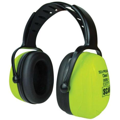 Scan SCAPPEEARDP Hi-Vis Ear Defenders SNR 32 dB