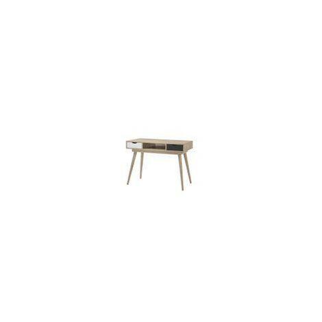 Scandinavian 2 Drawer Dressing Table Makeup Computer Desk Bedroom Furniture