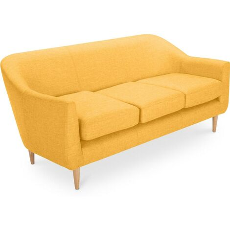 Scandinavian design 3 seater sofa