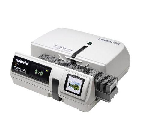 Scanner de diapositives Reflecta DigitDia 7000 10000 x 10000 dpi Élimine la poussière et les rayures: Hardware (matériel) fonctionnement automatiqu