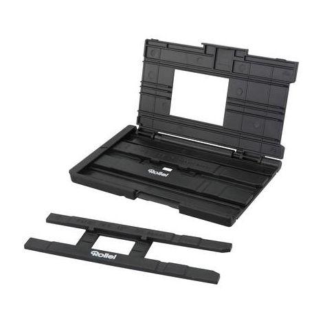 Scanner de diapositives, Scanner de négatifs Rollei DF-S 315 SE 14 Mill. pixel écran, lecteur de carte mémoire, films rouleau Super 8, films Pocket
