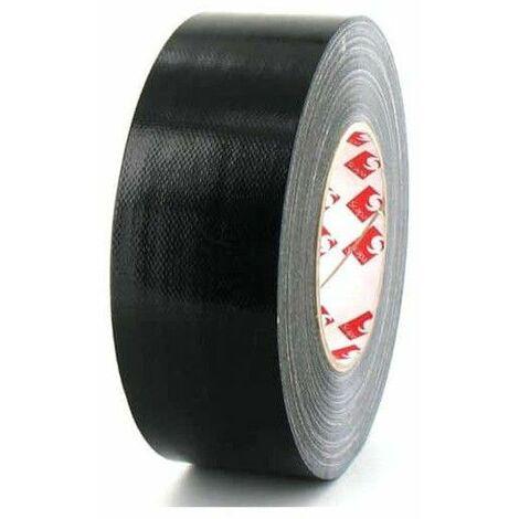 Scapa tela de cinta adhesiva de 50 mm negro 3120
