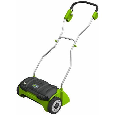 Scarificateur Électrique À Fil Greenworks 32 Cm De Largeur De Coupe, 1100w