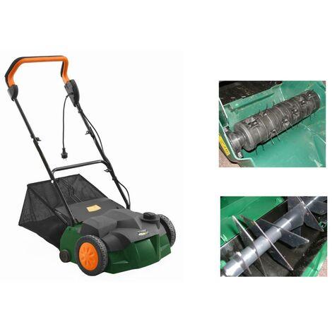 Scarificateur / Emousseur de gazon 1600W - 38 cm de largeur