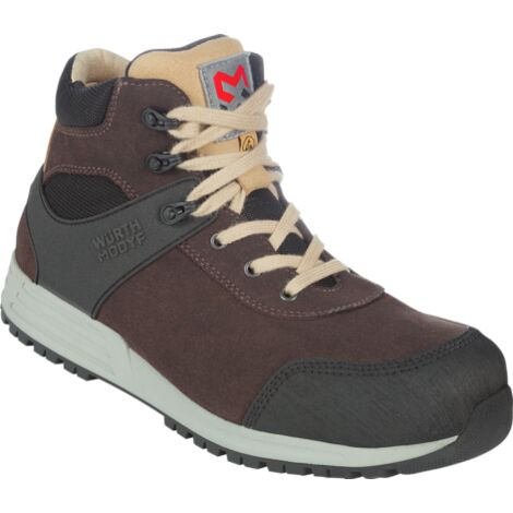 Scarpa antinfortunistica alta Nature S3, marrone, Taglia 37