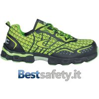 Scarpe Antinfortunistiche Cofra Low Kick Lime S1 P Src