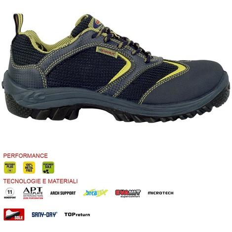 Scarpe antinfortunistiche cofra nizza s1 p src numero 45 scarpe da lavoro