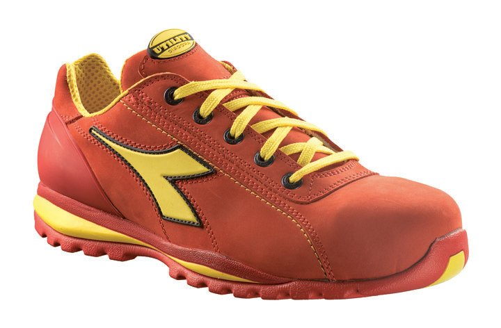 scarpe antinfortunistiche diadora rosse