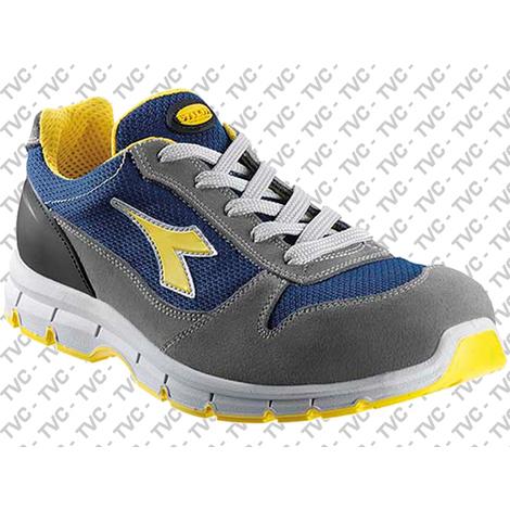 nuove varietà scarpe sportive San Francisco Scarpe antinfortunistiche DIADORA UTILITY - RUN TEXTILE LOW Beige/Blu  Maiolica S1P-SRC - 158619 C4904