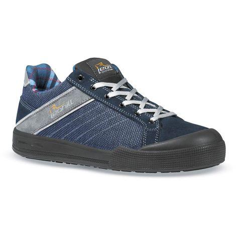 22d4b9080dcb5 SCARPE ANTINFORTUNISTICHE   Sneaker Leohill in Jeans e suola traspirante
