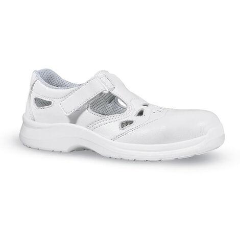 Scarpe da lavoro sicurezza sandalo sandalo UPOWER WHITE