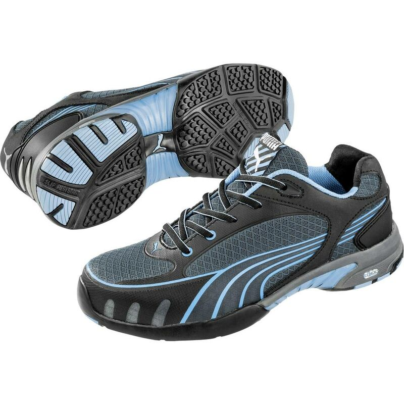 9269b6d6d6b18a Scarpe di sicurezza S1 Misura: 42 Nero, Blu PUMA Safety Fuse Motion Blue  Wns Low 642820 1 Paia