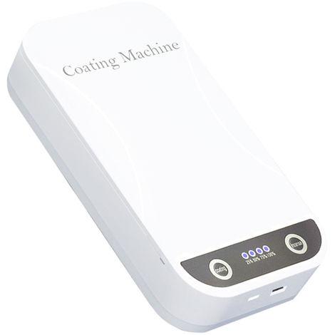 Scatola multifunzionale per la sterilizzazione di maschere per telefono cellulare, bianca