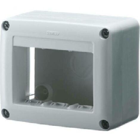 Scatola porta apparecchi 4 posti system bianca gw27621