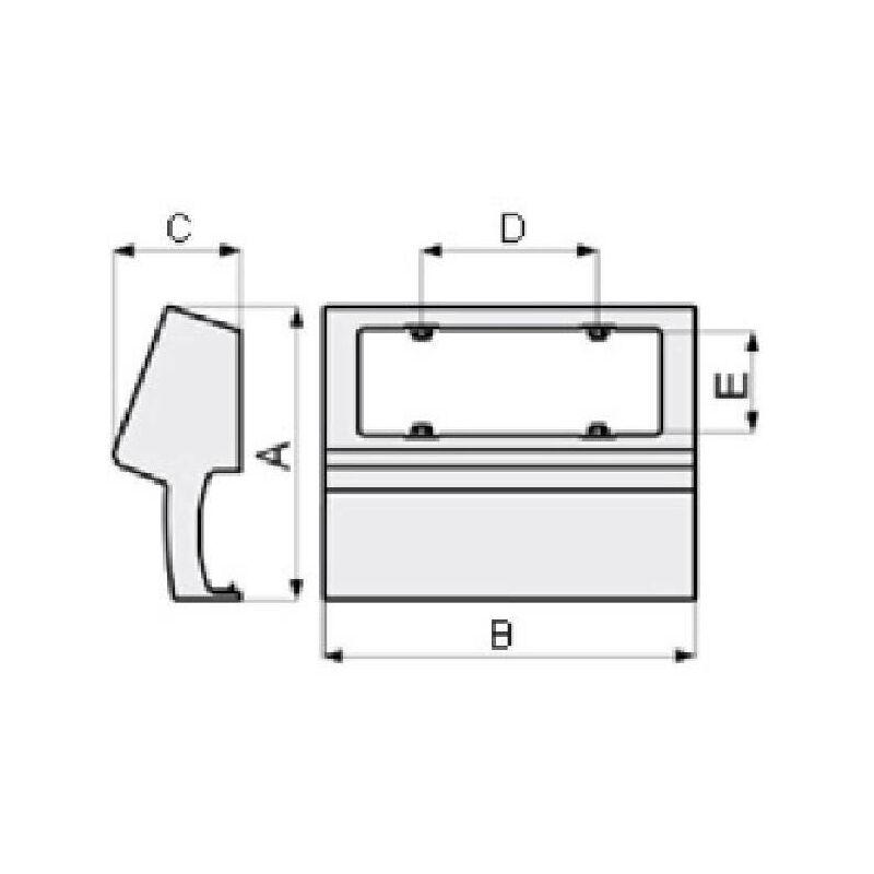 Sharplace Levage Simple Bloc de Corde Levage Pivotant Roue de Poulie Avec Prise S/écurit/é