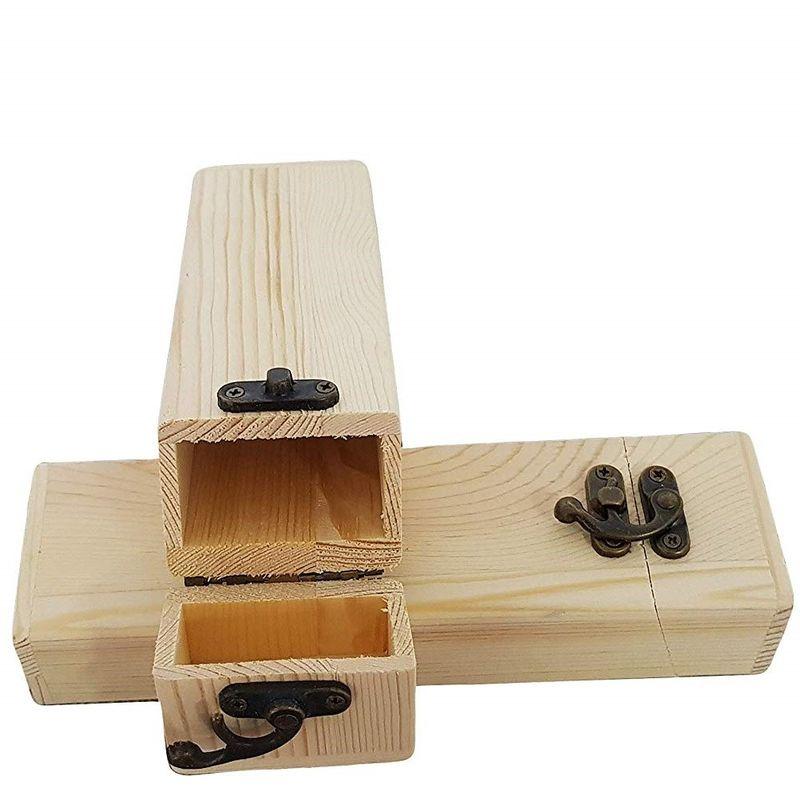 Set 6 Scatole Box Astuccio In Legno Decoupage Portagioie Cofanetto 53404a dfh