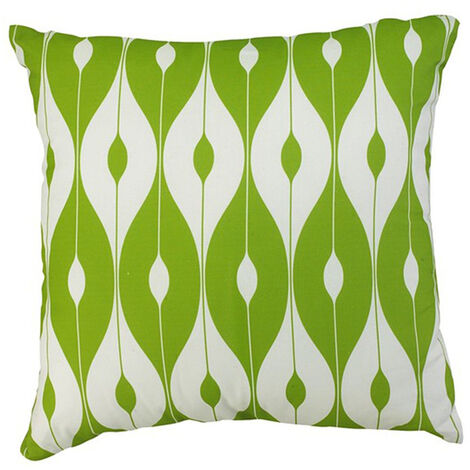 """Scatter Cushion 12""""x12"""" Green pattern"""