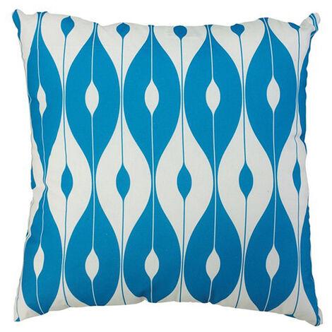 "Scatter Cushion 18""x18"" Light Blue pattern"