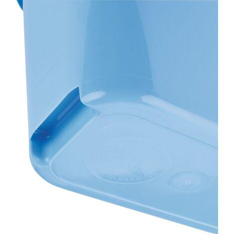 sceau rectang bleu mery 12l