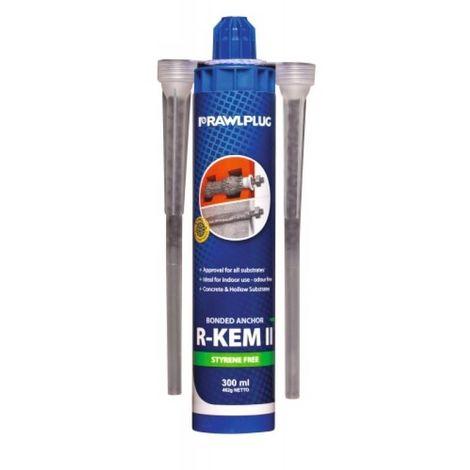Scellement chimique bi-composant R-KEM II, ton gris, cartouche de 310 ml - Gris