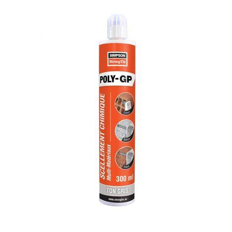 Scellement chimique (résine polyester) Gris 300 ml