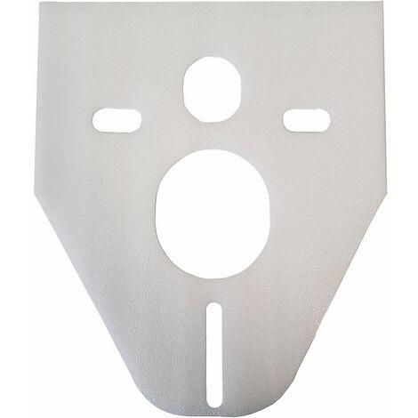 Schallschutz-Pad für Wand WC / Wand Bidet