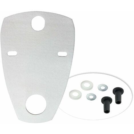 Schallschutzunterlage 630x380 mm Schallschutz Schallschutzmatte Urinal Pissoir