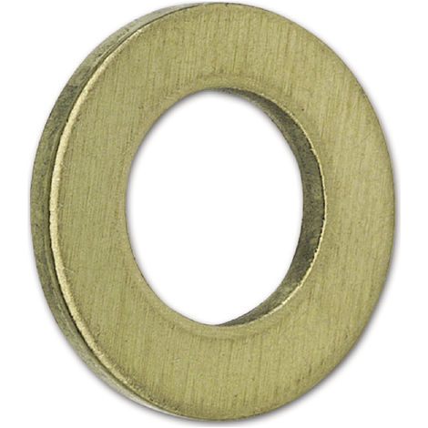 DIN 125 Scheiben Messing ohne Fase Form A