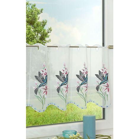 Scheibengardine - Kolibri