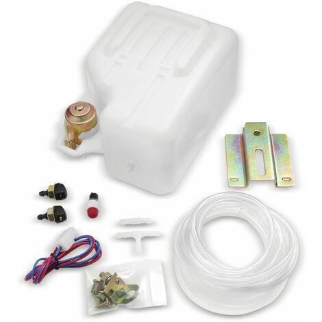 Scheibenwaschset 12 V- mit Tank, Pumpe, Schlauch und Zubehör