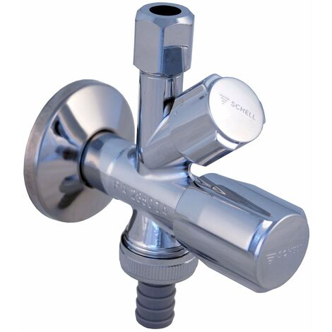 Schell 35510699 7868115 Comfort Soupape d\'angle de combinaison avec RV 1/2`` Chromé