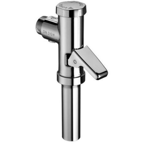 """SCHELL SCHELLOMAT WC-Druckspüler mit Hebel 1/2"""", 0,7-1,0 l/s chrom"""