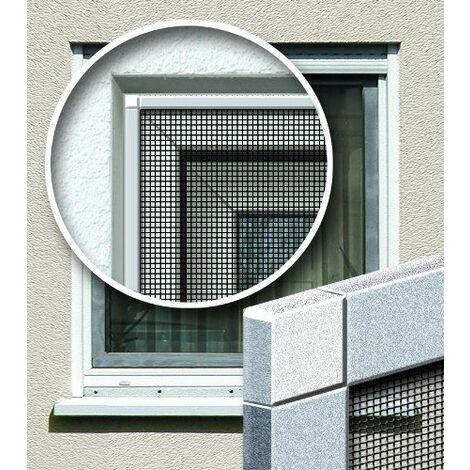 Schellenberg 57503 Moustiquaire en fibre de verre Blanc 140 x 250 cm