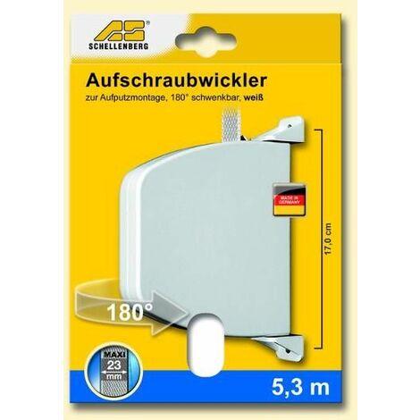 Schellenberg Enrouleur à visser - 50804