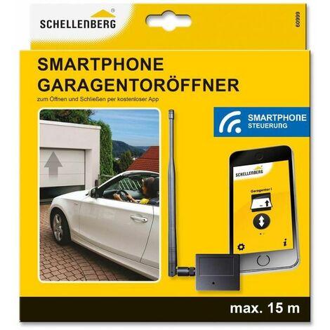 Schellenberg Télécommande de porte de garage pour Smartphone - 60999