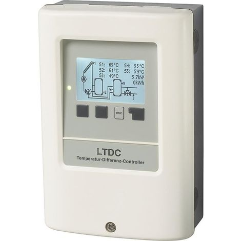Schémas hydrauliques pour régulation solaire LTDC V2