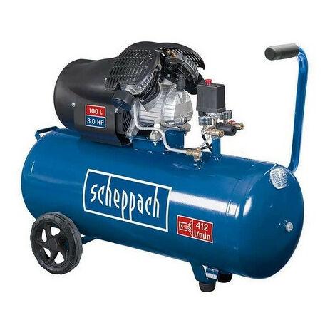 Scheppach - Compresseur d'air 2 cylindres 100 L 10 bars - HC120DC