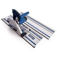 Scheppach CS55 Plunge Saw 160mm + 2 x 700mm Guide Rails (3901802985)