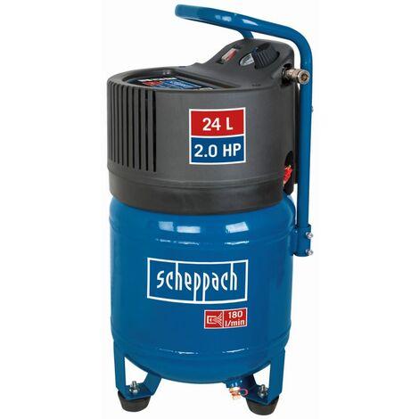 Scheppach HC24V compresseur 24 l, 10 bar, 1,5kW, sans huile