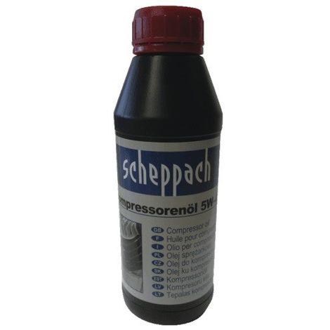 Scheppach Huile ultra performante SAE 5W-40, 500ml - 3906100701