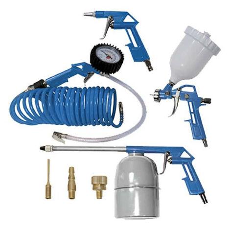 Scheppach - Kit de 8 accessoires pour compresseur - TNT
