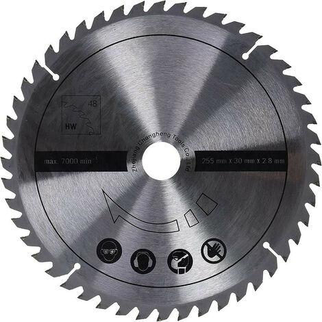 Scheppach - Lame de scie circulaire Ø255x30x2,8x1,8 mm 48 Dents - TNT