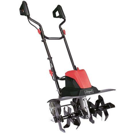 SCHEPPACH Motobineuse électrique MTE460 - 2 cv - 1500 W - Noir et rouge
