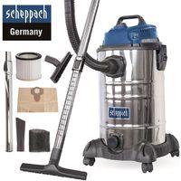 Scheppach Nass-Trockensauger ASP30-OES 30L 1400W Mehrzwecksauger + Zubehör