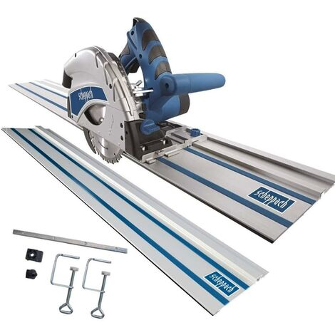 SCHEPPACH PL55 PLUNGE SAW + 2800 MM GUIDE TRACK + KIT ACCESSORIES