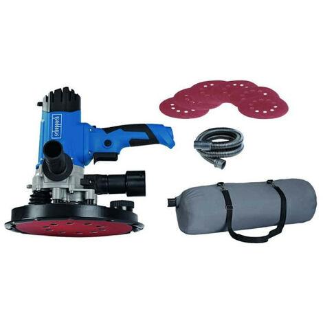 Scheppach - Ponceuse à plâtre Ø225mm 1200W + Sac aspiration et accessoires - DS 200