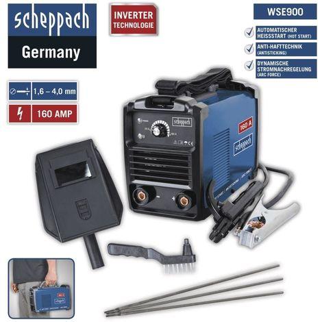 Scheppach - Poste à souder Inverter 20 à 160 A - WSE900