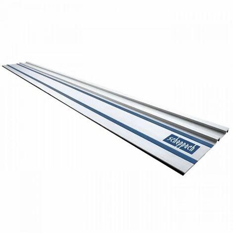 SCHEPPACH Rail de guidage - 1400 mm - Pour scie plongeante PL55 / PL75