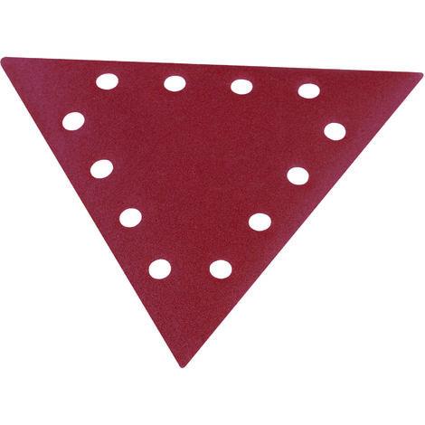 scheppach Schleifpapier-Dreieckig K=100 Satz=10 Stück